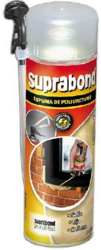 espuma de poliuretano expandido premium x 500ml suprabond