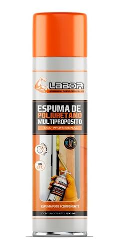 espuma de poliuretano labor expandido profesional 500 ml