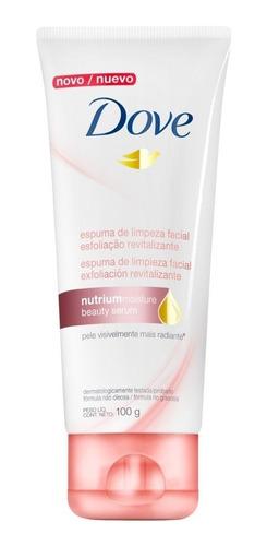 espuma dove limpieza facial exfoliacion revitalizante x 100g