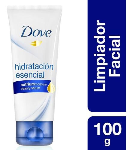 espuma dove limpieza facial hidratante x 100ml