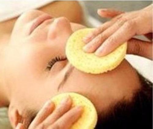 espuma esponjas limpieza faciales -  paq. de 12 unidades
