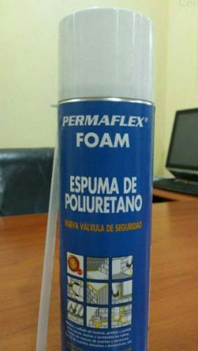 espuma expansiva de poliuretano  permaflex 500ml 2021
