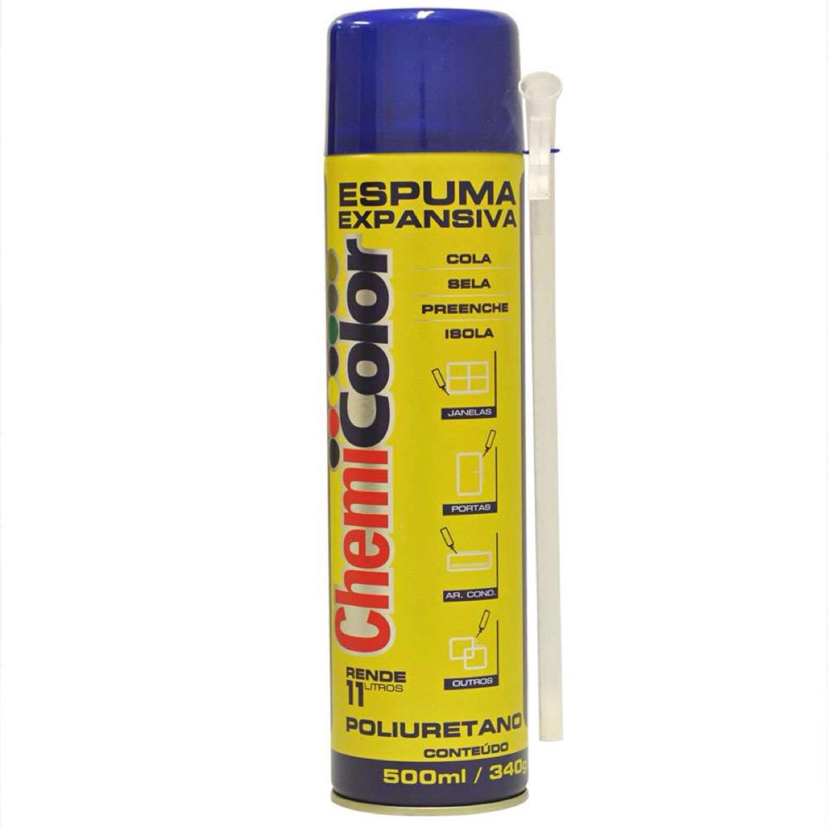 703445a114c espuma expansiva poliuretano 500 ml rende 11 l. Carregando zoom.