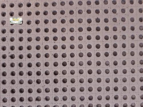 espuma fenólica 2x2x2 furo rúcula 30 placas = 10350 células