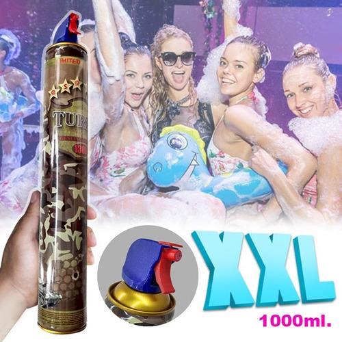 espuma fiestas spray 1000ml carnaval cumpleaños ef01-jjl