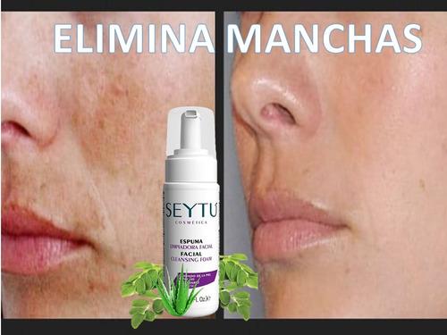 espuma limpiadora facial seytu