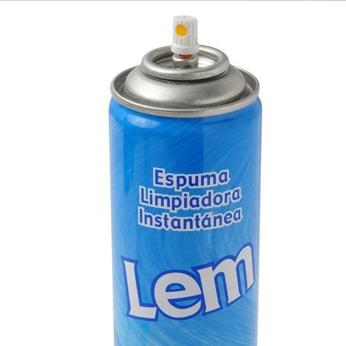 espuma limpiadora instantanea lem profesional pack 2 unidades