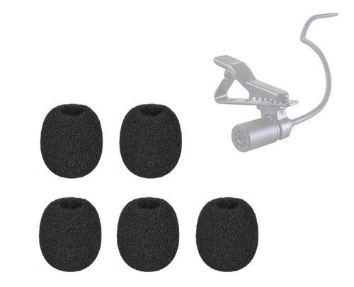 espuma para microfone de lapela 5 un protetor de vento média