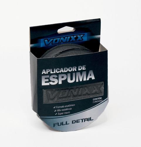 espuma passa cera silicone aplicador cera vonixx 2 und