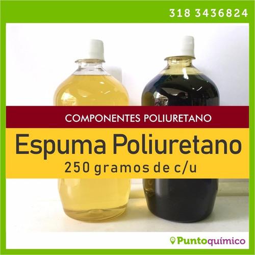 espuma poliuretano - kit de 250g - poliol e isocianato
