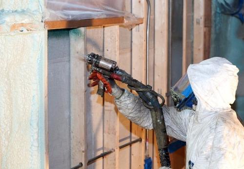 espuma poliuretano spray techos. aislante hidrófugo térmico