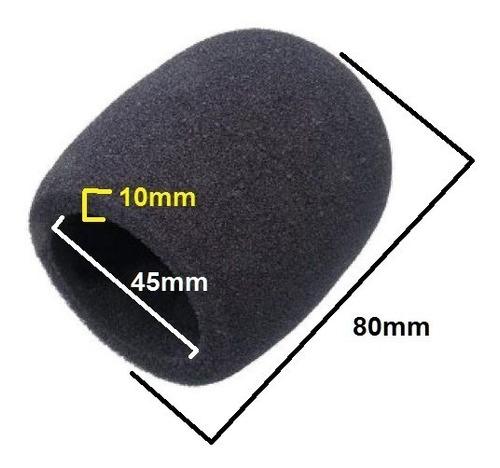 espuma profissional para microfone proteção pop filter com 2