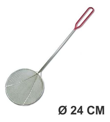 espumadera gastronomica nº 24 cm modelo araña reforzada