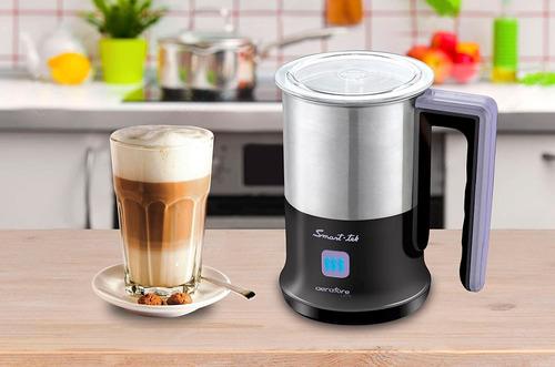 espumador de leche smart tek aeratore latte sd1065 acero 2mn