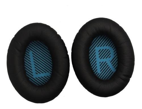espumas bose quietcomfort qc35 qc 35 almofadas earpads couro