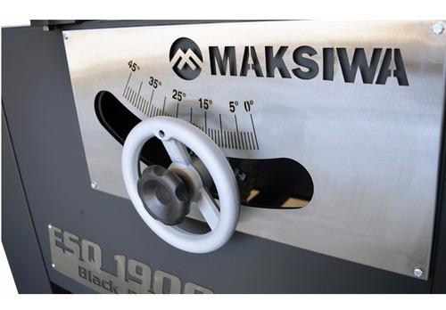 esquadrejadeira 1900mm inclinável 3cv mono esq-1900i maksiwa