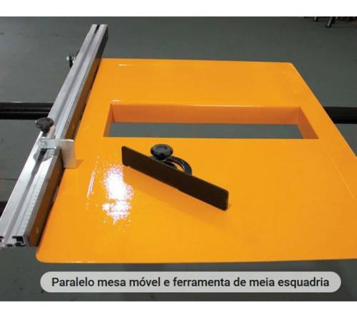esquadrejadeira 2000mm 3cv mono vênus verry + coletor de pó