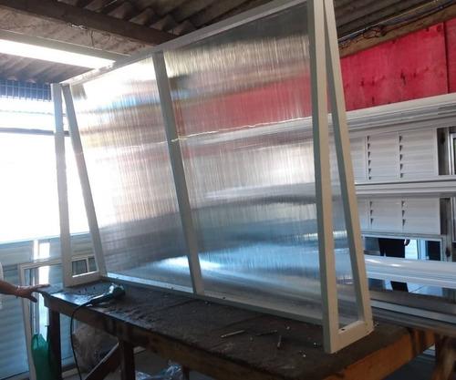 esquadrias de alumínio e vidros temperados