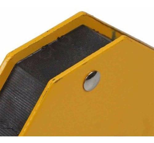 esquadro magnético p/ solda robusto 12kg titanium