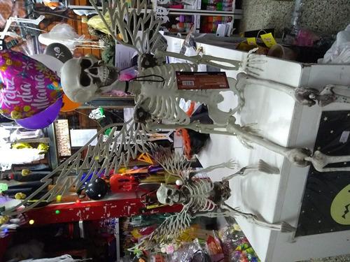 esqueleto angel chico plastico decoracion halloween