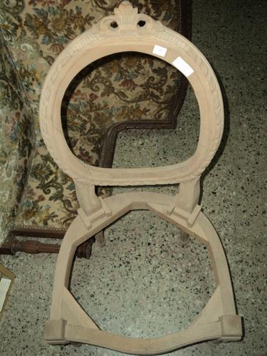 esqueleto de silla petit ovalo luis xvi estilo frances
