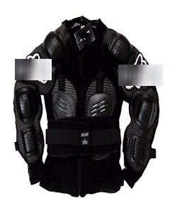 esqueleto protector body armor salvaje con logo talla l