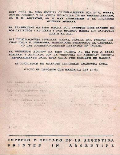 esquema de la historia universal - g. h. wells