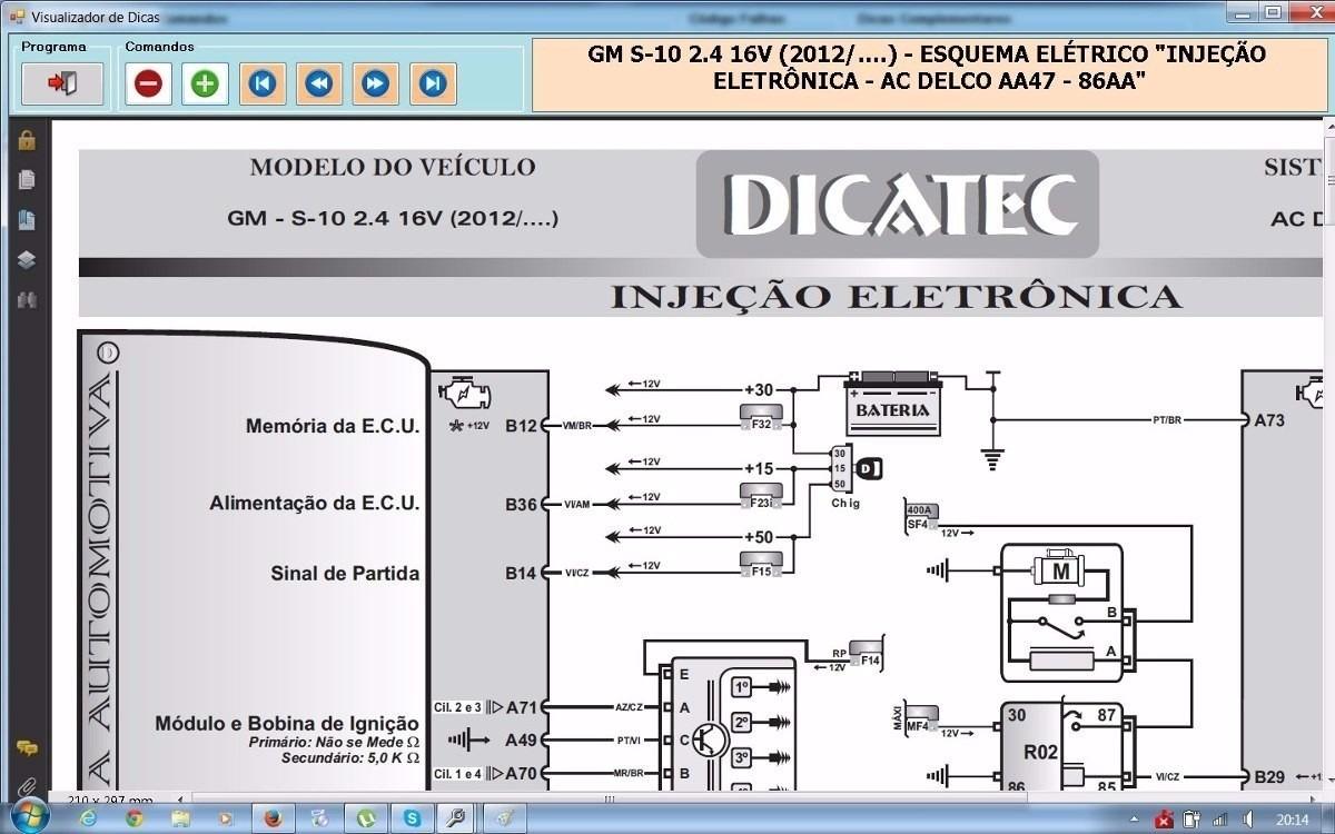 Esquema Diagrama Eletrico Dicatec 2015 300 Download  R