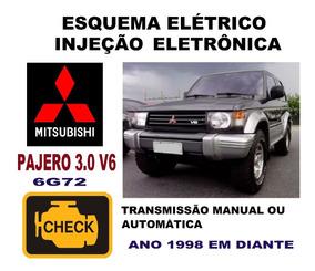 Esquema Elétrico Injeção Mitsubishi Pajero 3 0 V6 6g72