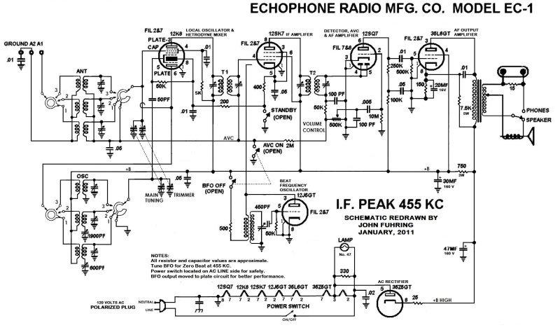 Audio Output Transformer Design furthermore Receivers Receptores also MLB 708771739 Esquema Eletrnico E Servico Vitrola E Radio Antigo  JM together with Heathkit Am Tuner Schematic likewise Schematic. on grundig tube radio schematic
