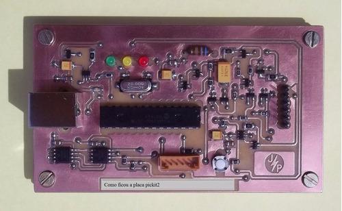 esquema pickit 2 microchip + zif dep. programador grav. pic