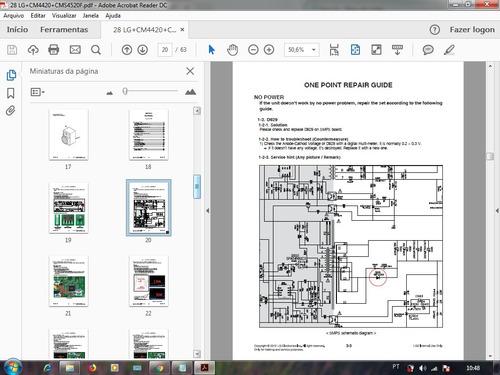 esquema som lg cm4420 cms4520f mini hi-fi system