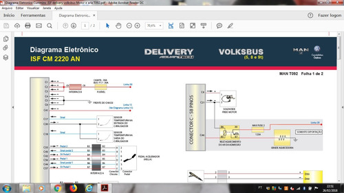esquemas diagramas eletricos vw euro 5 delivery cummins isf
