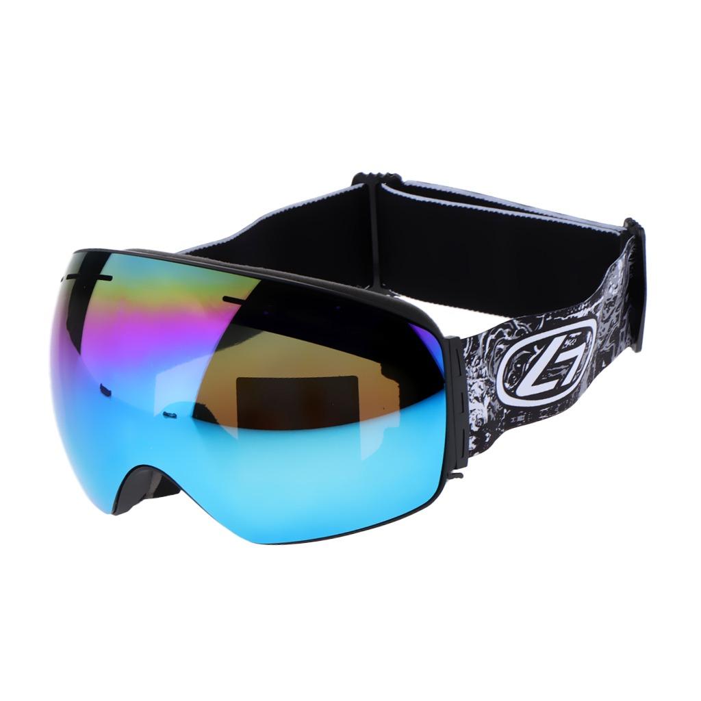 4c1c30ac90 esquí snowboard nieve gafas protección uv antivaho azul g. Cargando zoom.