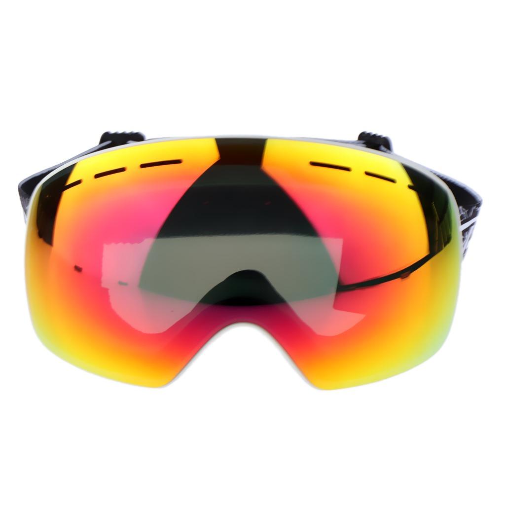 f32f072b8d esquí snowboard nieve gafas protección uv antivaho gafas. Cargando zoom.
