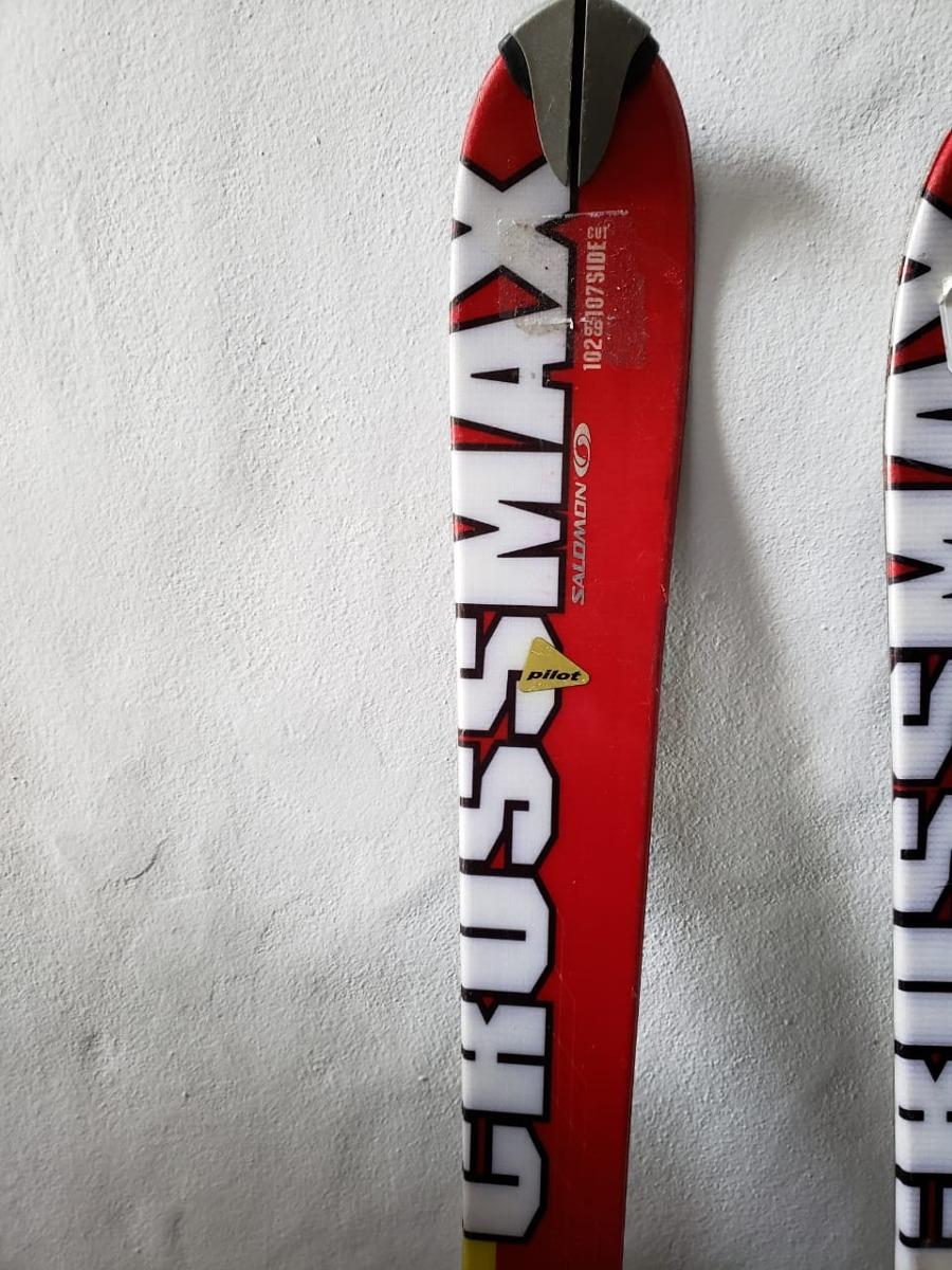 28123ef07c Esquies Ski Salomon Crossmax Pilot Casi Nuevos - $ 6.000,00 en ...