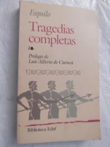 esquilo tragedias completas editorial edaf 7 obras