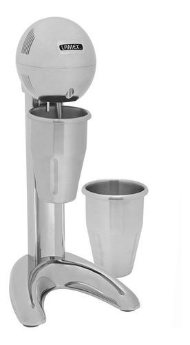 esquimera chocomilera fuente de sodas con 2 vasos profesional cromada lamex 2041-1