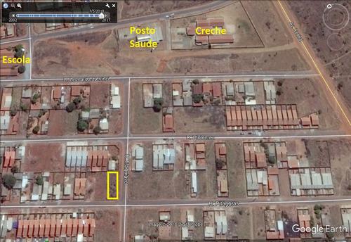 esquina 377,50m² (asfalto e plano) vila delfiori