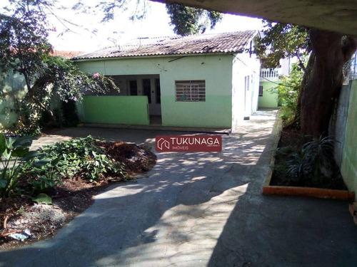 esquina 480 m² - 160 m² útil 2 dorms 6 vagas + edícula locação ou venda - gopoúva - guarulhos/sp - ca0541