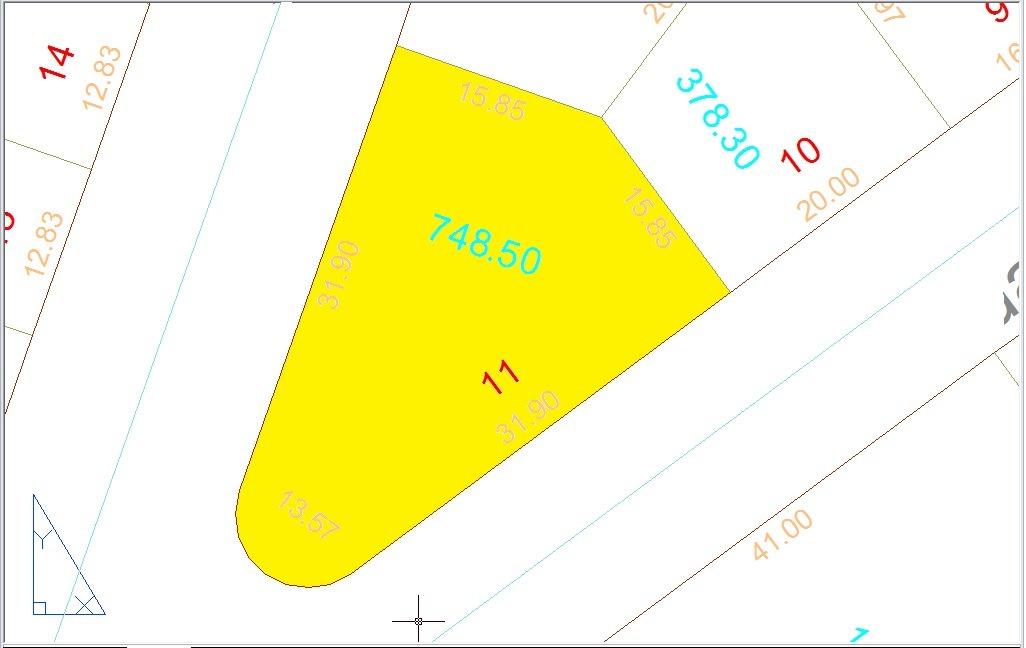 esquina 748,50m² (asfalto e agua) parque atalaia