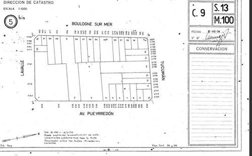 esquina av pueyrredon y tucuman apto 3400 m²