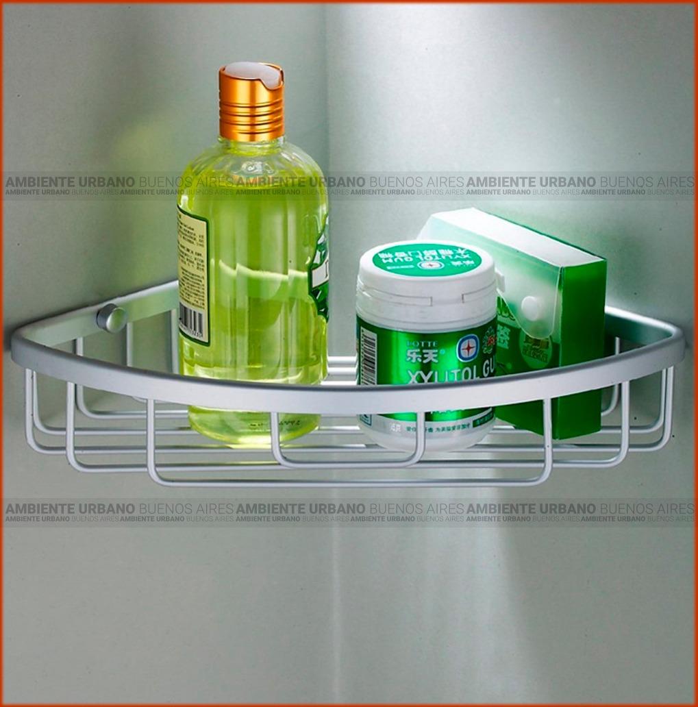 esquinero aluminio organizador repisa curvo duchas baño. Cargando zoom. 7381d4f8354d