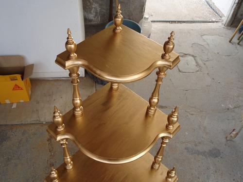 esquinero antiguo de madera