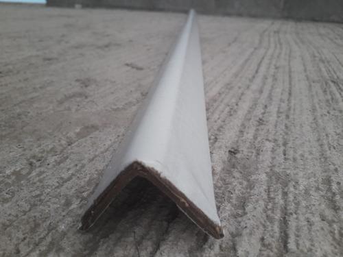 esquinero de carton 1.5 x 1.5 160 calibre 1.83 mts