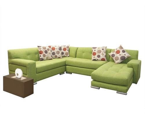 esquinero lisboa: sofá loveseat sin brazos y chaiselong deo