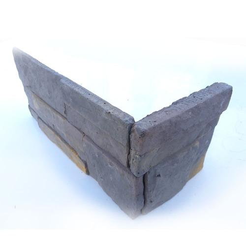 esquinero simil piedra serrana ecostone interior exterior