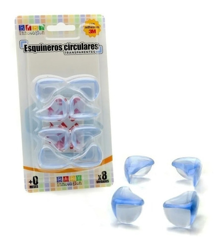 esquineros circulares de silicona - baby innovation
