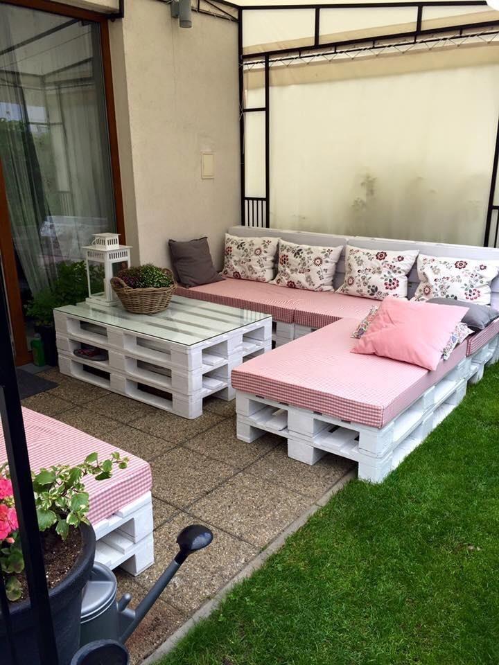 Esquineros de pallet palets sillones r sticos palet 8 for Sillones para patio