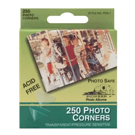 Esquineros Plásticos Transparentes Para Adherir Fotos 250u